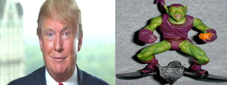 Trump is The Green Goblin
