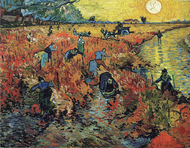 Red_vineyards van gogh