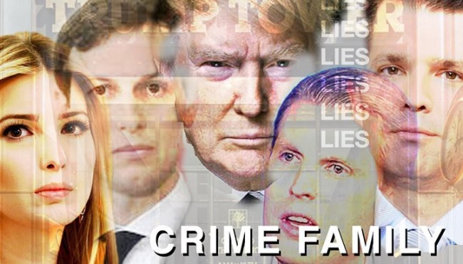 Image result for mueller trump crime family