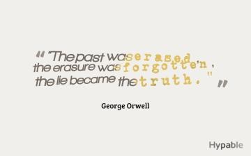 Orwell-past-quote
